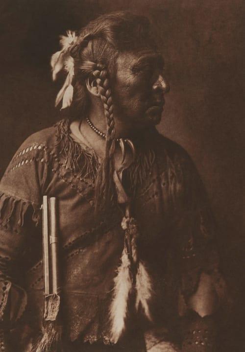 Horse Capture – Atsina pl 332 Curtis, Edward Sherrif  (American, 1868-1952)