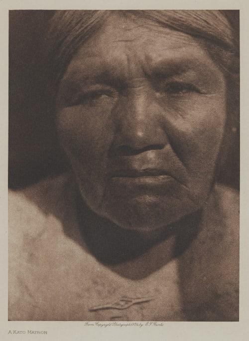 A Kato Matron Curtis, Edward Sherrif  (American, b.1868)