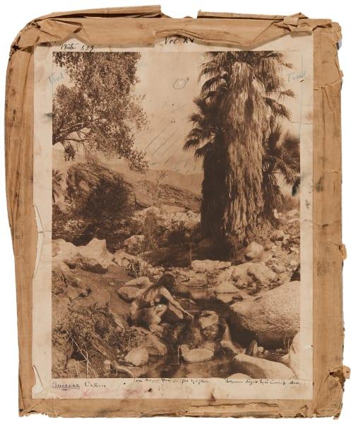 Plate 523 envelope, Andres Cañon Curtis, Edward Sherrif  (American, 1868-1952)