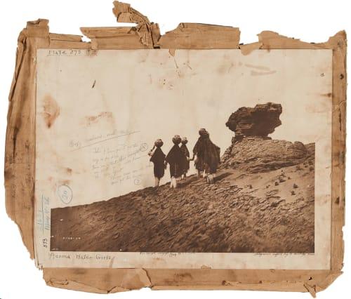 Plate 573 envelope, Acoma Water Girls Curtis, Edward Sherrif  (American, 1868-1952)