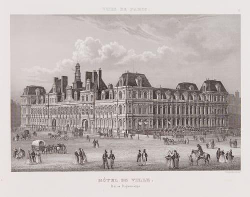 Hotel de Ville Chamouin, Jean Baptiste Marie  (French, 1768-1812)