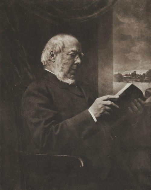 Portrait-Studie. Crooke, W.  (British, 1849-1928)
