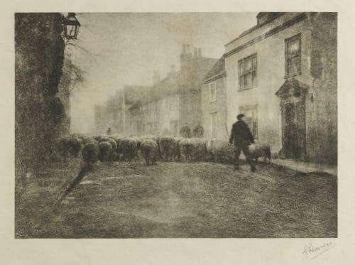 In a Village under the South Downs Davison, George  (British, 1854-1930)