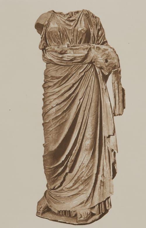 Statue de Femme Drapée du IV Siecle