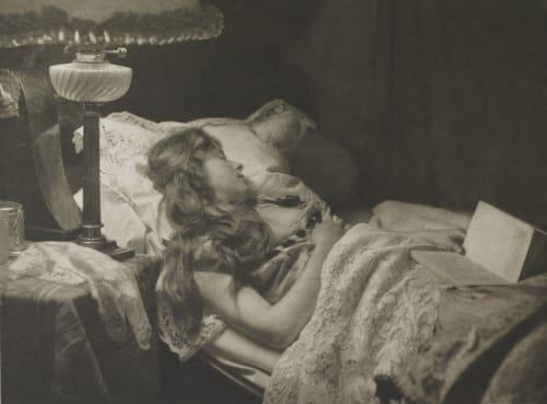 Eingeschlafen Puyo, Constant  (French, 1857-1933)