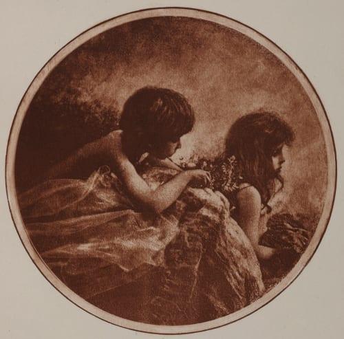 Médaillon Demachy, Robert  (French, 1859-1936)