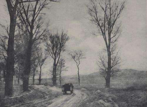 Auf Der Landstrasse Henneberg, Hugo  (Austrian, 1863-1918)
