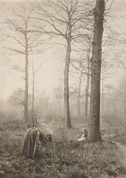 Reisigsammlerin Marissiaux, Gustave  (Belgian, 1872-1929)