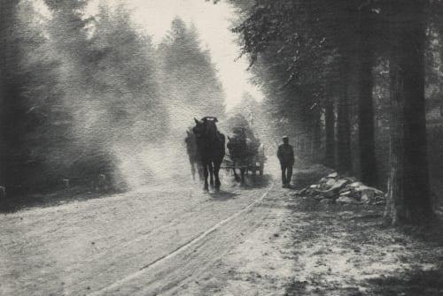 Staubiger Weg Misonne, Leonard  (Belgian, 1870-1943)