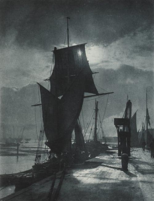 Im Hafen Sutcliffe, Frank Meadow  (British, 1853-1941)