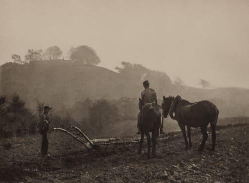 Auf Dem Felde Sutcliffe, Frank Meadow  (British, 1853-1941)