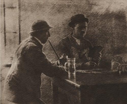 Der Kiebitz Watzek, Hans  (Austrian, 1848-1903)