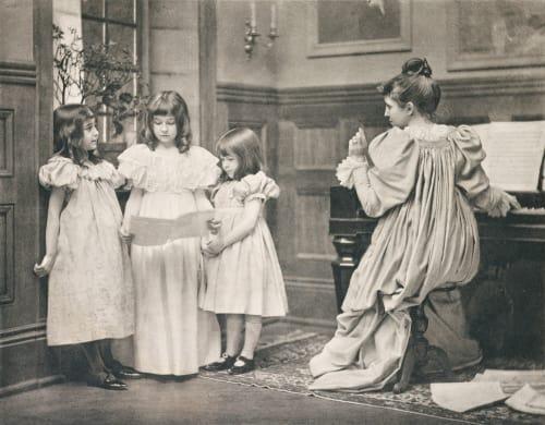 Der Falsche Ton Eickenmeyer, Roudolph  (American, 1862-1932)