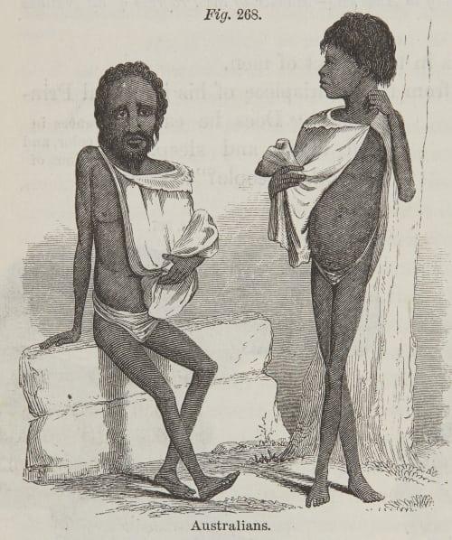 Fig. 268. Australians. Draper, John William  (American, 1811-1882)