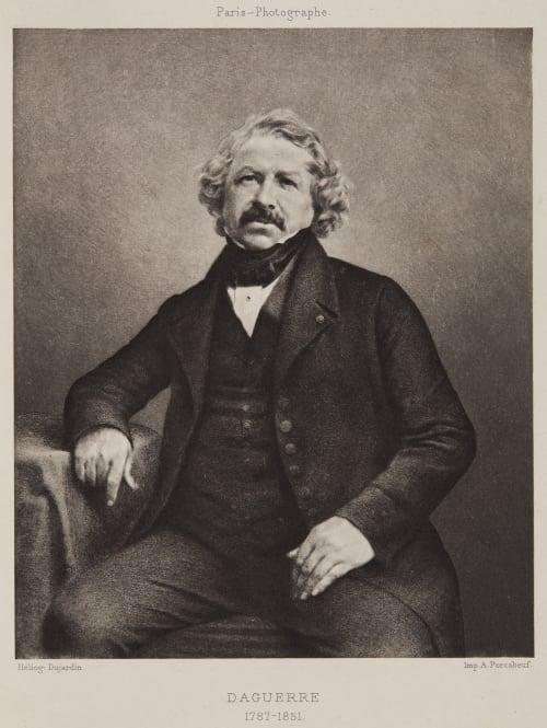 Daguerre 1787-1851 Richebourg, Pierre-Ambrose   (French, 1810-1893)