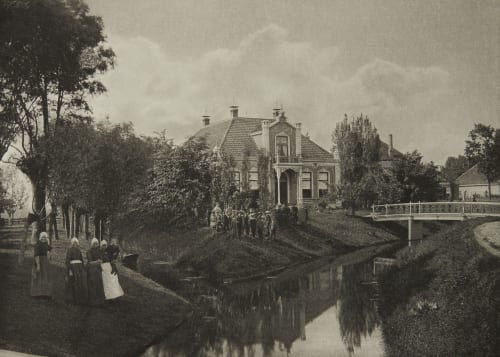 Villa at Twisk Davies, G. Christopher  (British, 1849-1922)