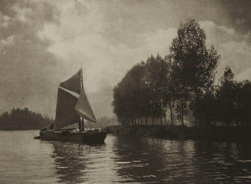On the Scheldt Davies, G. Christopher  (British, 1849-1922)