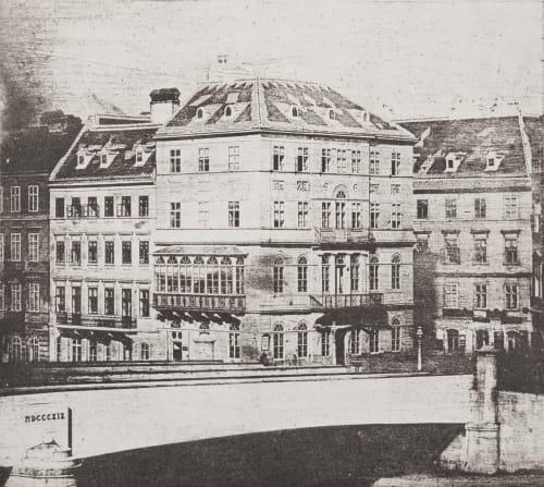 Heliogravure auf geatzter Daguerreotypplatte Berres, Joseph  (Austrian, 1821-1912)