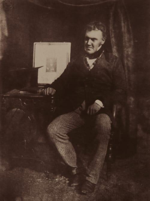 Robert Carruthers, L.L.D. Hill, David Octavious  (Scottish, 1802-1870)Adamson, Robert  (Scottish, 1821-1848)
