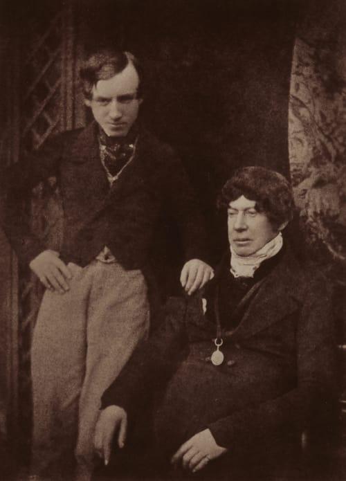 Charles Kirkpatrick Sharpe. Hill, David Octavious  (Scottish, 1802-1870)Adamson, Robert  (Scottish, 1821-1848)