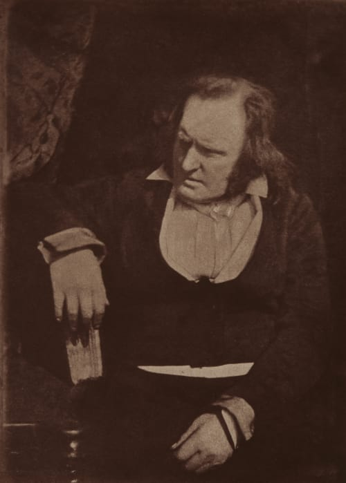 Professor John Wilson. Hill, David Octavious  (Scottish, 1802-1870)Adamson, Robert  (Scottish, 1821-1848)