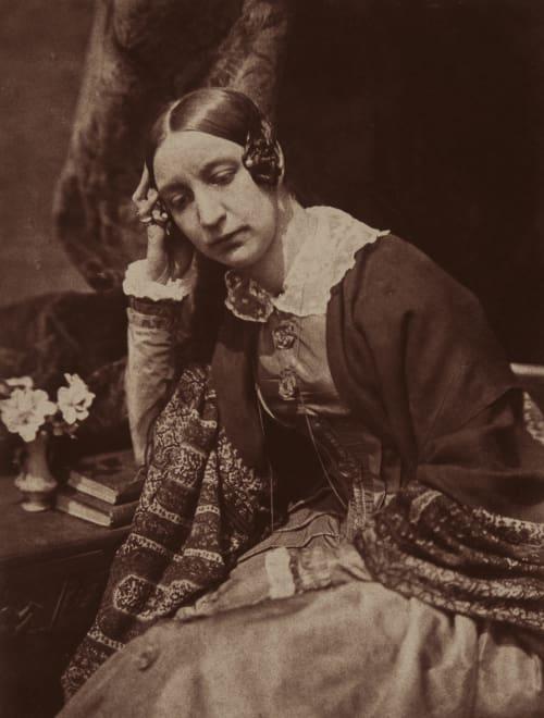 Lady Eastlake. Hill, David Octavious  (Scottish, 1802-1870)Adamson, Robert  (Scottish, 1821-1848)
