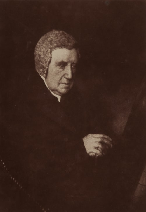 Archbishop Harcourt. Hill, David Octavious  (Scottish, 1802-1870)Adamson, Robert  (Scottish, 1821-1848)