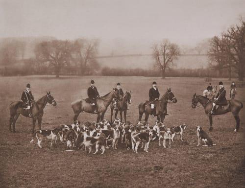Earl Fitzwilliam's (Wentworth) Foxhounnds Elliott, Joseph John  (British, 1835-1903,)Fry, Clarence Edmund  (British, 1840-1897)