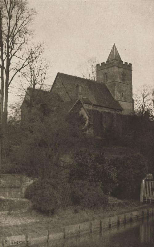 Plate III Amwell Church Emerson, Peter Henry  (British, 1856-1936)