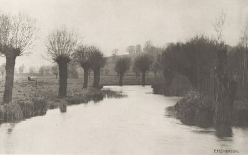Plate IV Mouth of the River Ash Emerson, Peter Henry  (British, 1856-1936)