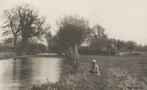 Plate V Keeper's Cottage, Amwell Magna Fishery Emerson, Peter Henry  (British, 1856-1936)