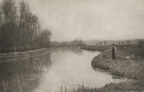 Plate X The October Hole, Near Hoddesdon Emerson, Peter Henry  (British, 1856-1936)