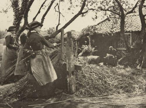 Osier-Peeling Emerson, Peter Henry  (British, 1856-1936)