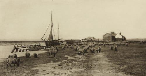 Blackshore (River Blythe, Suffolk) Emerson, Peter Henry  (British, 1856-1936)