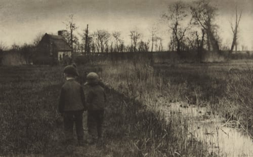 A Toad in the Path – An Early Spring in Norfolk Emerson, Peter Henry  (British, 1856-1936)