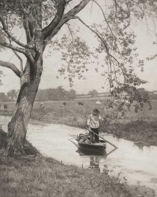 A Suffolk Dike Emerson, Peter Henry  (British, 1856-1936)