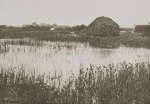 Autumn Flood Emerson, Peter Henry  (British, 1856-1936)