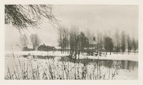 Bleak Winter Emerson, Peter Henry  (British, 1856-1936)