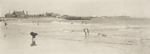 The Gorleston Sands Emerson, Peter Henry  (British, 1856-1936)