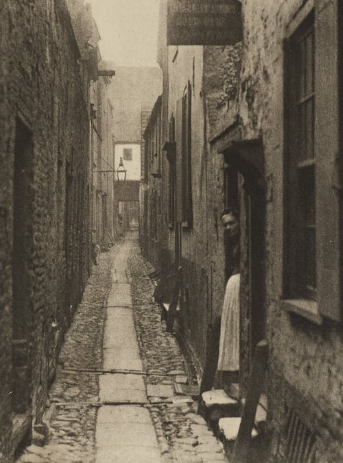 A Yarmouth Row Emerson, Peter Henry  (British, 1856-1936)