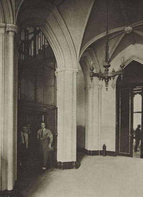 The Staircase Annan, James Craig  (Scottish, 1864-1946)