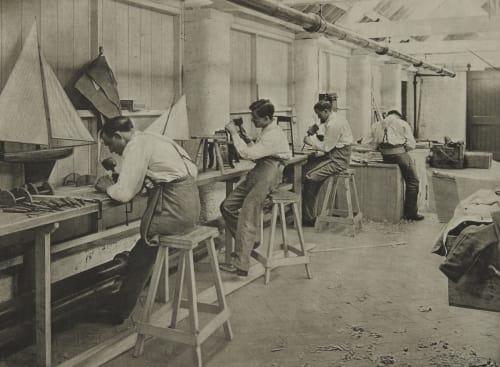Woodcarving Annan, James Craig  (Scottish, 1864-1946)