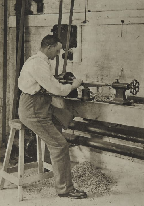 A Turning Lathe Annan, James Craig  (Scottish, 1864-1946)