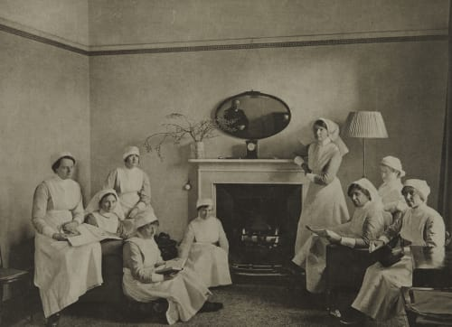 Nurses' Sitting Room Annan, James Craig  (Scottish, 1864-1946)