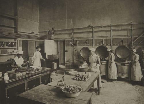 The Kitchen Annan, James Craig  (Scottish, 1864-1946)