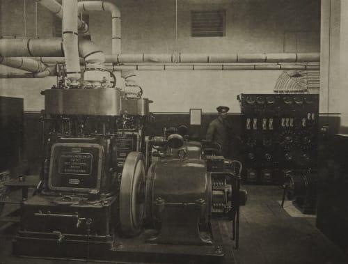 Dynamo Room Annan, James Craig  (Scottish, 1864-1946)