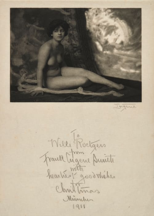Nude – A Study Eugene, Frank  (American, 1865-1936)