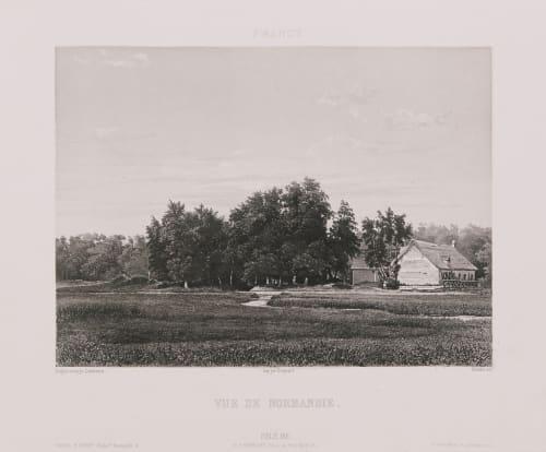 France. Vue de Normandie Lerebours, Noël Paymal  (French, 1807-1873)