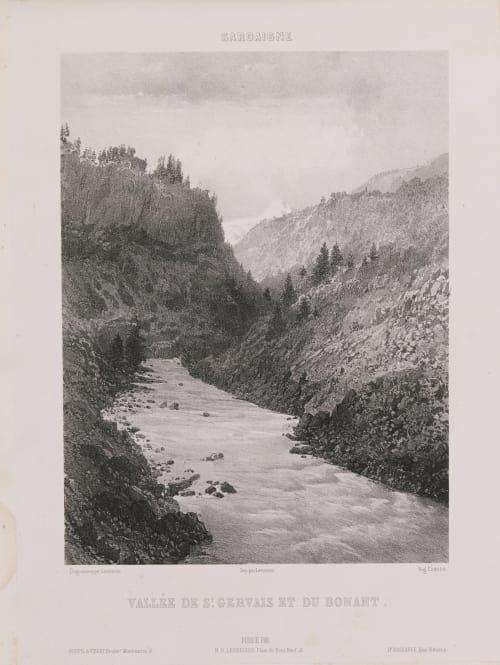 Sardaigne. Vallée de St Gervais et du Bonant Lerebours, Noël Paymal  (French, 1807-1873)