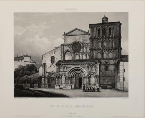 Ste. Croix A. Bordeaux Lerebours, Noël Paymal  (French, 1807-1873)